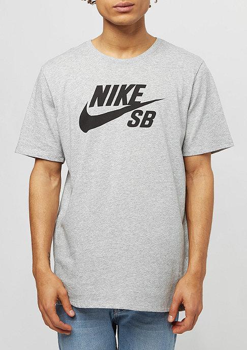 NIKE SB Logo dark grey heather/black