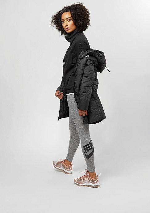 NIKE Leggings Leg A See carbon heather/black