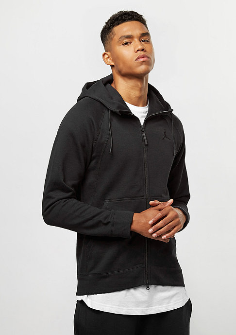 JORDAN Wings Fleece FZ black/black