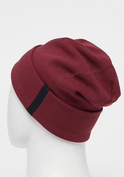 NIKE Tech Beanie dark team red/back/white