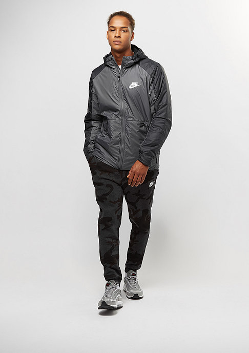NIKE Syn Fill FLC LN dark grey/black/white