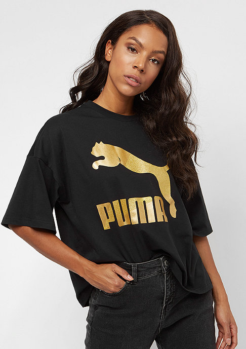 Puma Glam Oversized black/gold-glitter