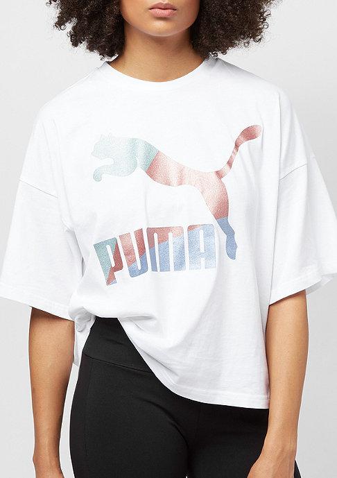 Puma Glam Oversized white/metallic