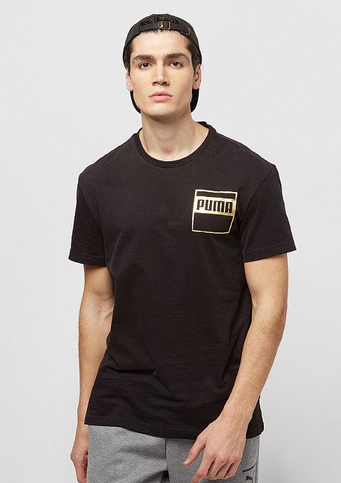 Puma Rebel Gold cotton black