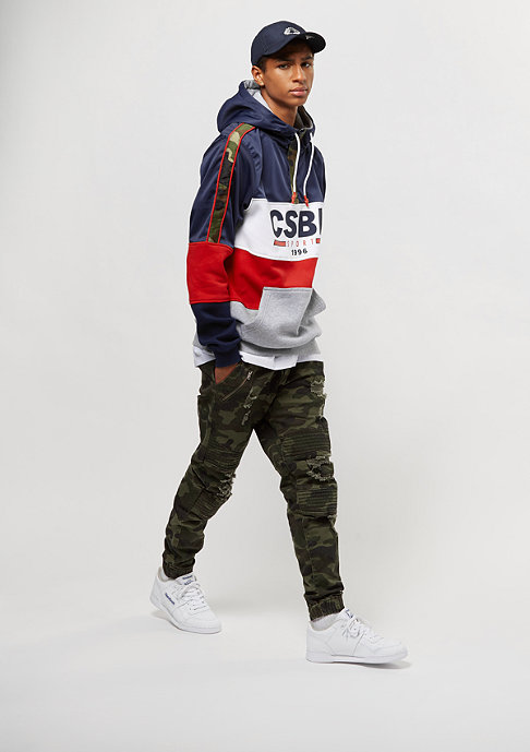 Cayler & Sons Hoody Blocked multicolor