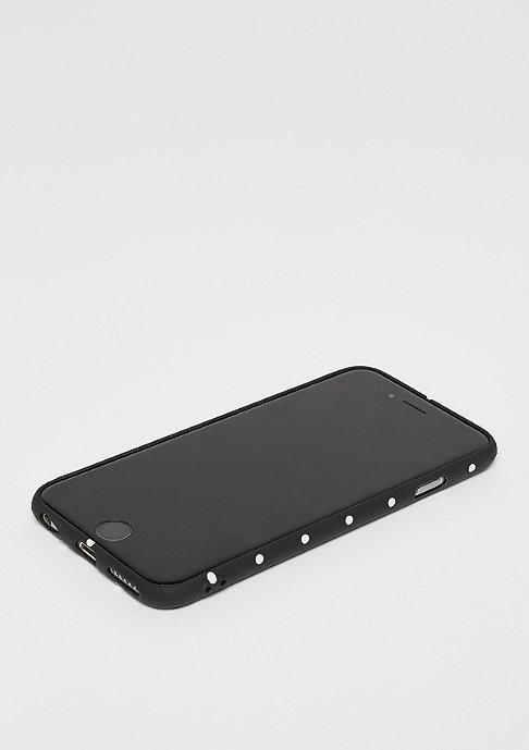 SNIPES Box Logo Case iPhone 6s Dots black/pink