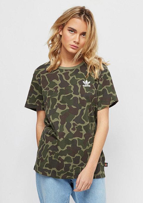 adidas Logo T-Shirt camo