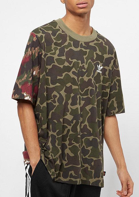 adidas Boxy T-Shirt camo