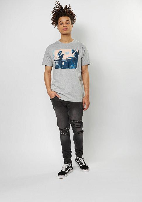 Wu-Wear T-Shirt Chess heather grey