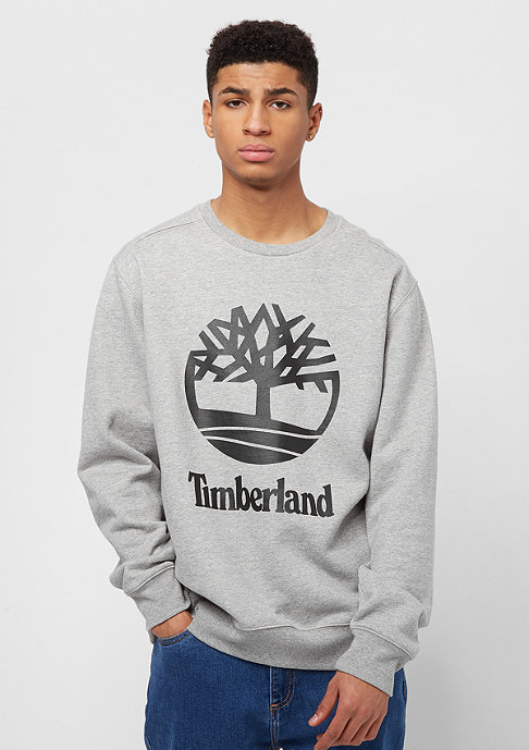 Timberland Stacked Logo medium grey heather