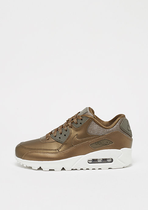 NIKE Wmns Air Max 90 Premium mtlc field/mtlc field/summit white