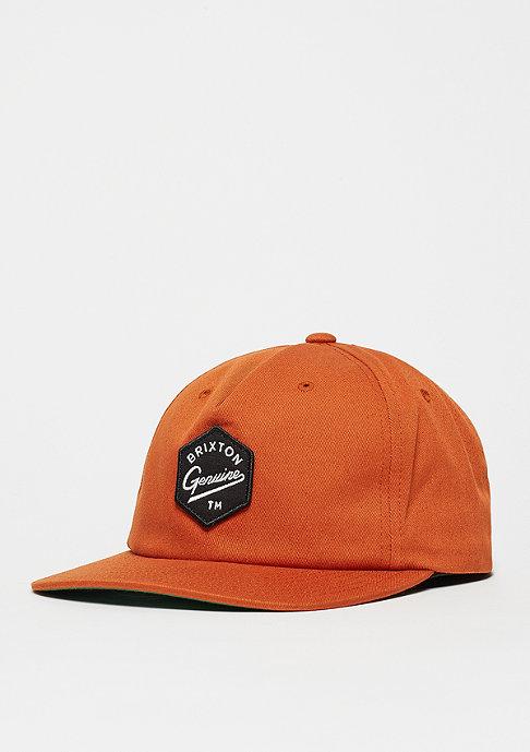 Brixton Yates burnt orange