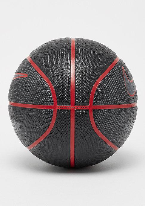 NIKE Basketball Dominate 8P (Size 7) black/university red