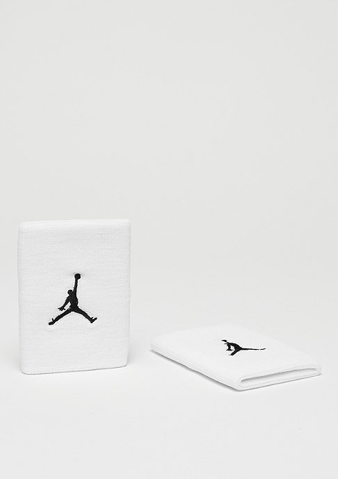 JORDAN Jumpman Wristband white/black