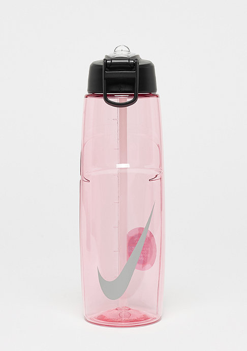 NIKE T1 Flow Swoosh Water Bottle ion pink/wolf grey