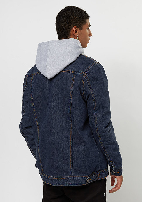 Urban Classics Sherpa dark blue