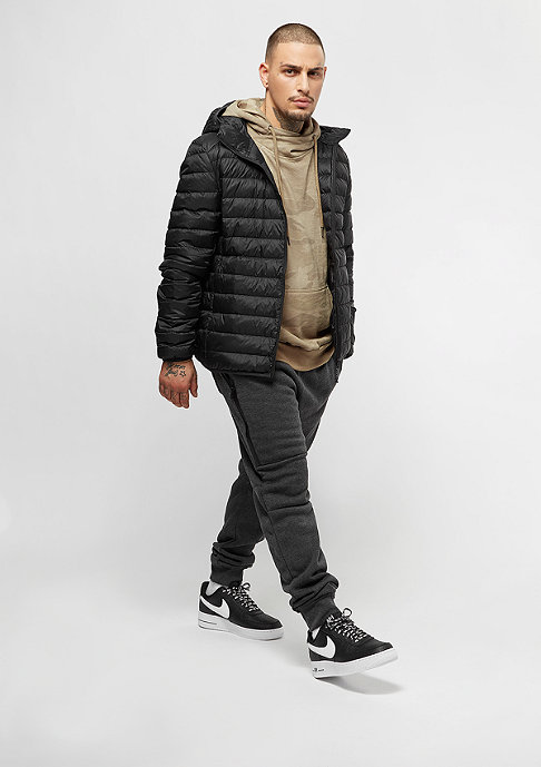 Urban Classics Basic Hooded Down black
