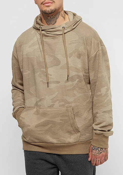 Urban Classics High Neck sand camo