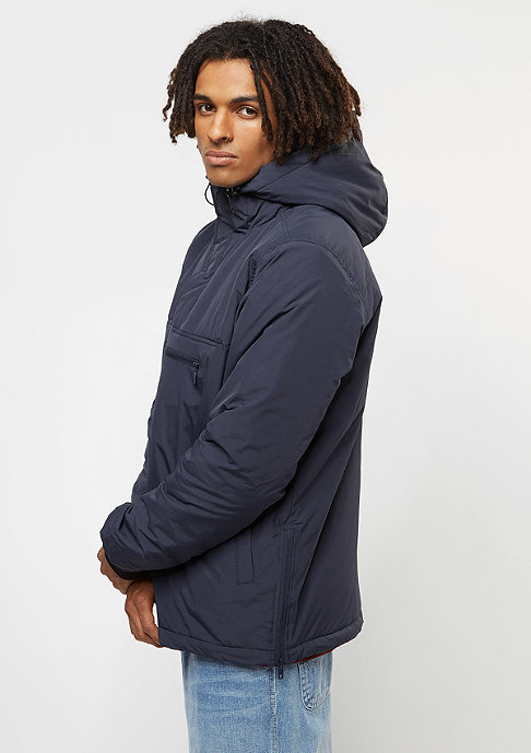 Urban Classics PAdded Pull Over navy