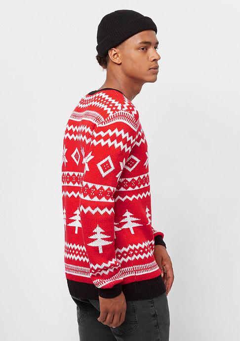 Urban Classics Holidays Christmas red/white