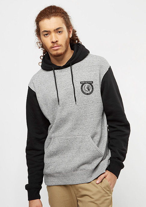 Brixton Native Fleece heather grey/black