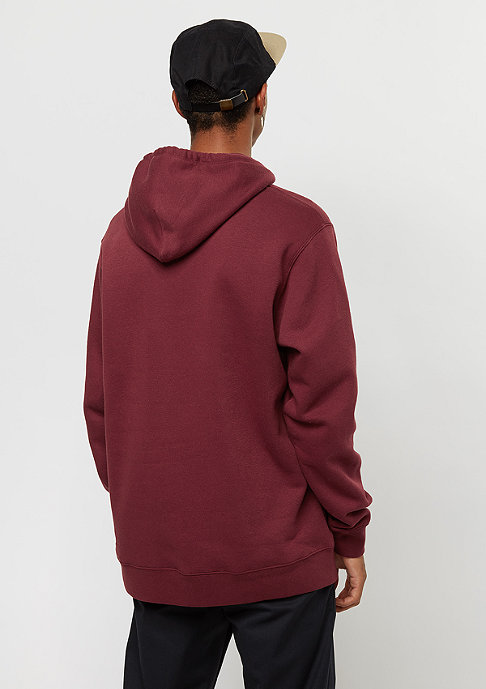 Brixton Springfield Fleece burgundy