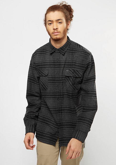 Brixton Bowerly Flannel black/heather charcoal