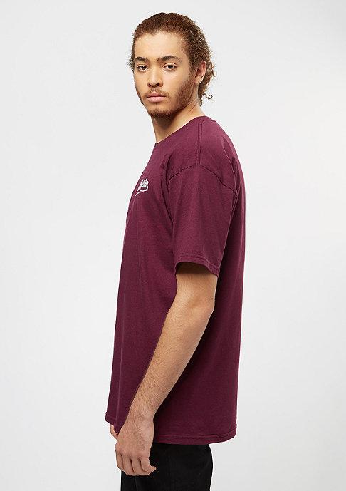 Brixton Hammond burgundy