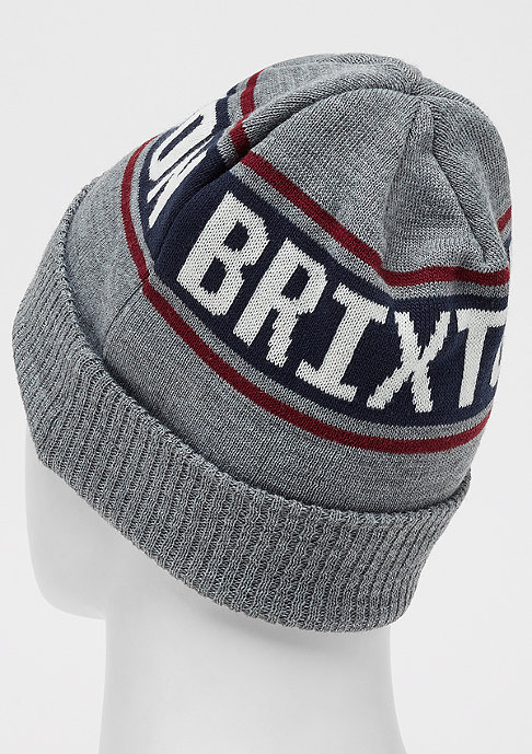 Brixton Capital light heather grey