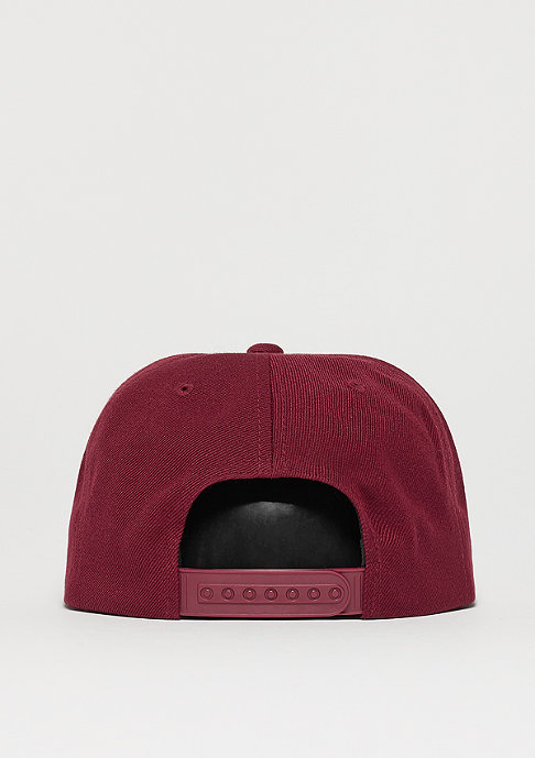 Brixton Rival charcoal heather/burgundy/cream
