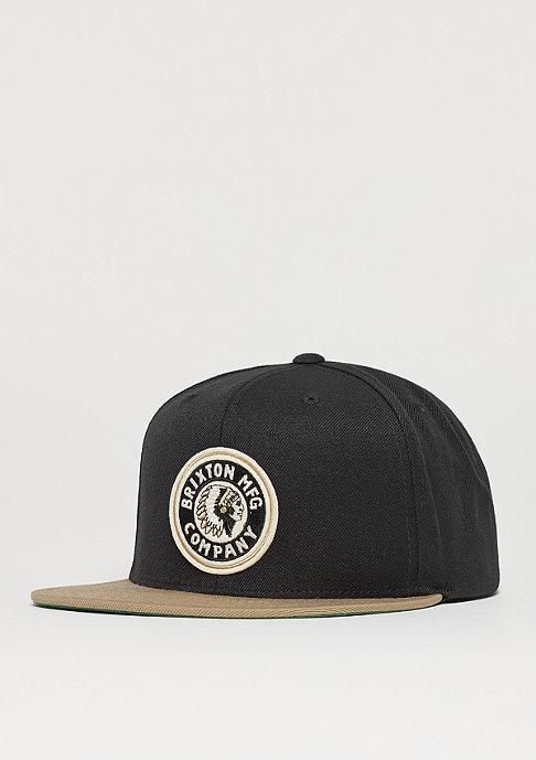 Brixton Rival khaki/black/gold