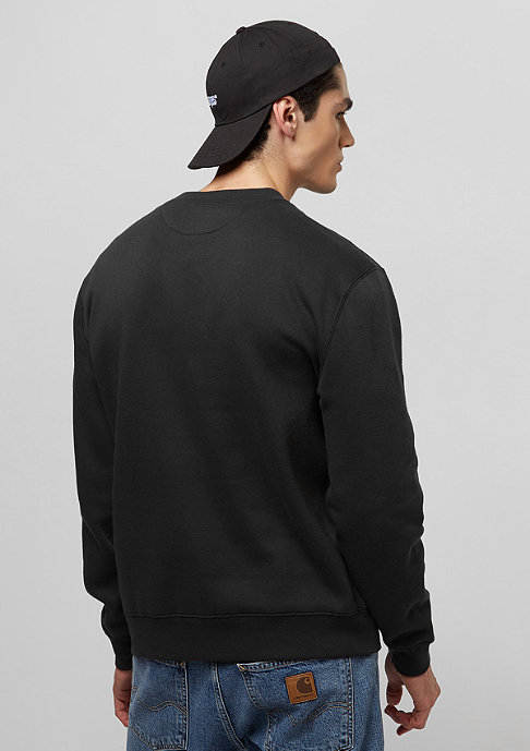 Brixton Westchester Fleece washed black