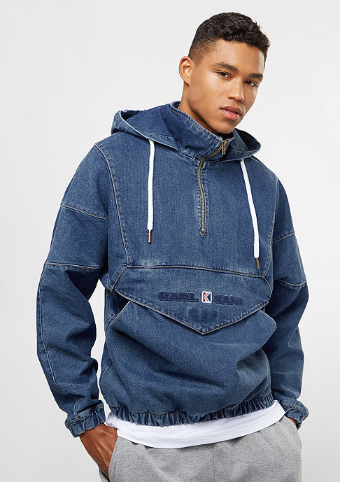 Karl Kani OG Denim Windbreaker blue