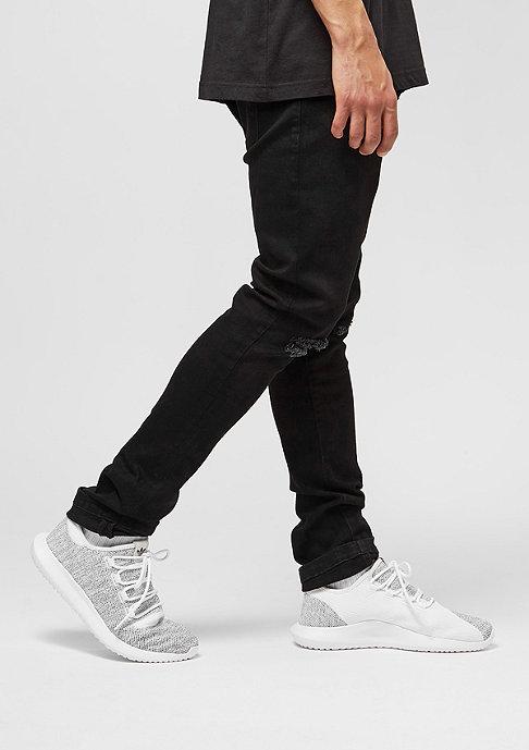 Urban Classics Slim Fit Knee Cut Denim black