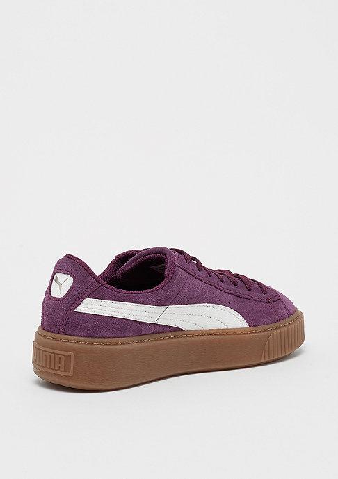 Puma Suede Platform SNK purple-white
