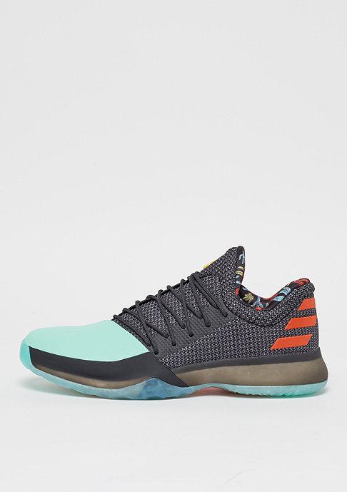 adidas Crazy X blackTteal/solar red