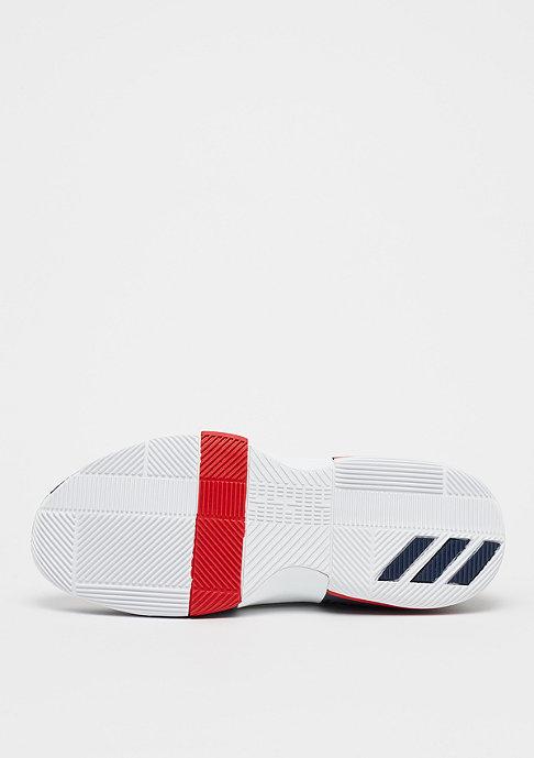 adidas Basketball Lillard 3 footwear white/collegiate navy/scarlet