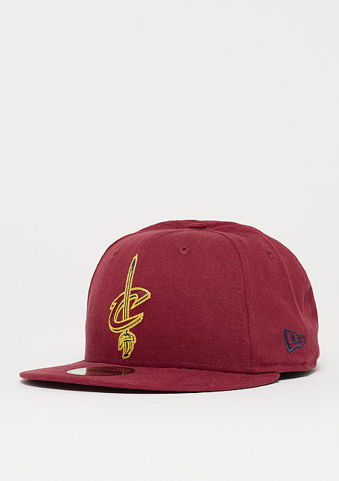 New Era 59Fifty Chainstitch NBA Cleveland Cavaliers cardinal