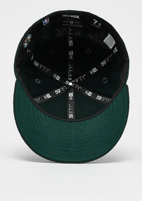 New Era NBA 59Fifty Low Profile Boston Celtics dark green