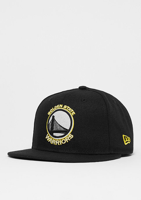 New Era 9Fifty Team GITD Basic NBA Golden State Warriors black