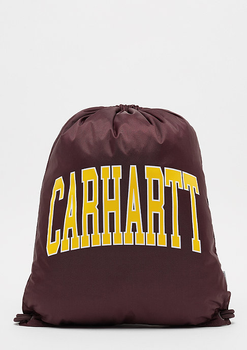 Carhartt WIP Division Script damson