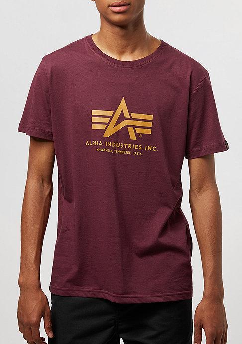 Alpha Industries Basic burgundy