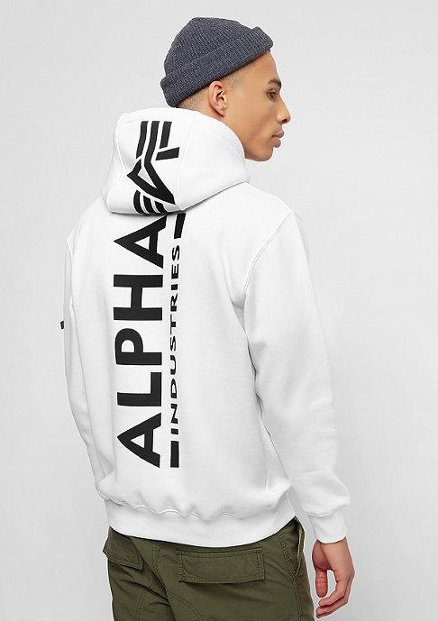 Alpha Industries Back Print white