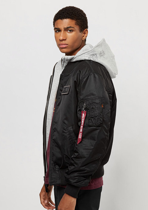 Alpha Industries MA-1 D-Tec black