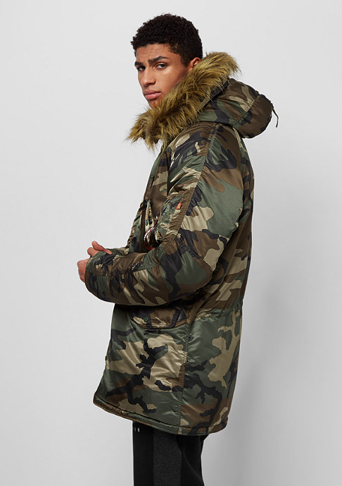 Alpha Industries N3B VF 59 woodland camo 65