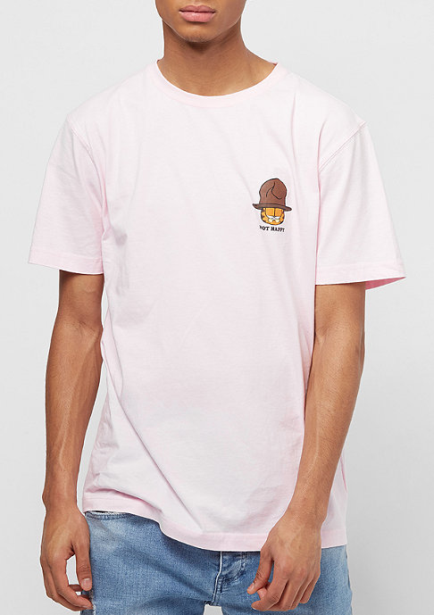Cayler & Sons WL Not Happy Garfield Tee pale pink/mc
