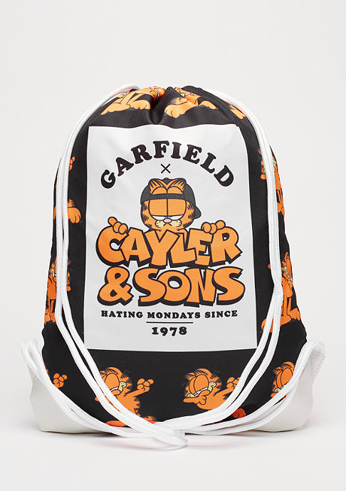 Cayler & Sons WL Garfield The Dab Gymbag black/mc