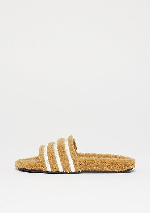 adidas Adilette cardboard/chalk white/core black