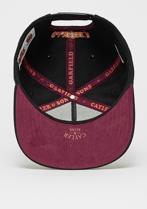 Cayler & Sons WL Merch Garfield Cap black/maroon