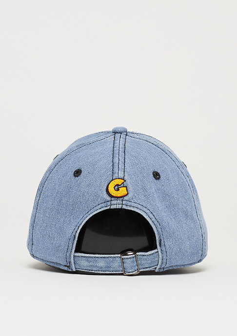 Cayler & Sons WL CS Garfield Curved Cap washed blue denim